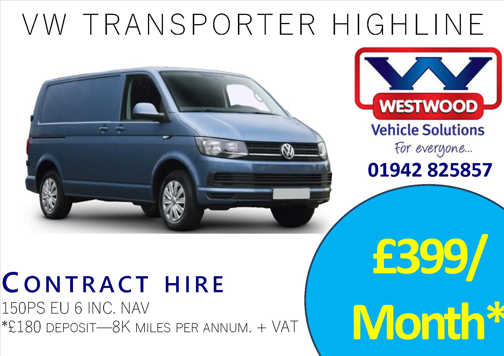VW TRANSPORTER ADVERT