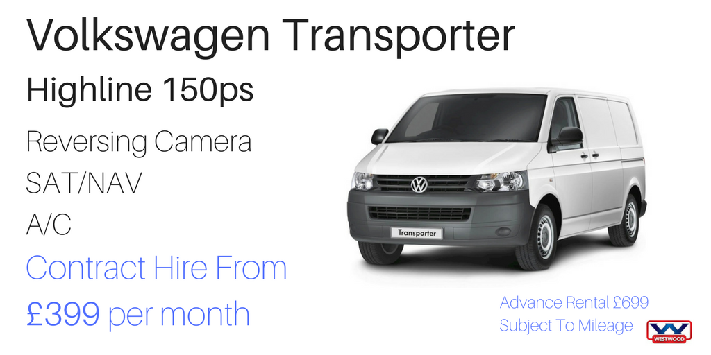 VW Transporter 150ps contract hire