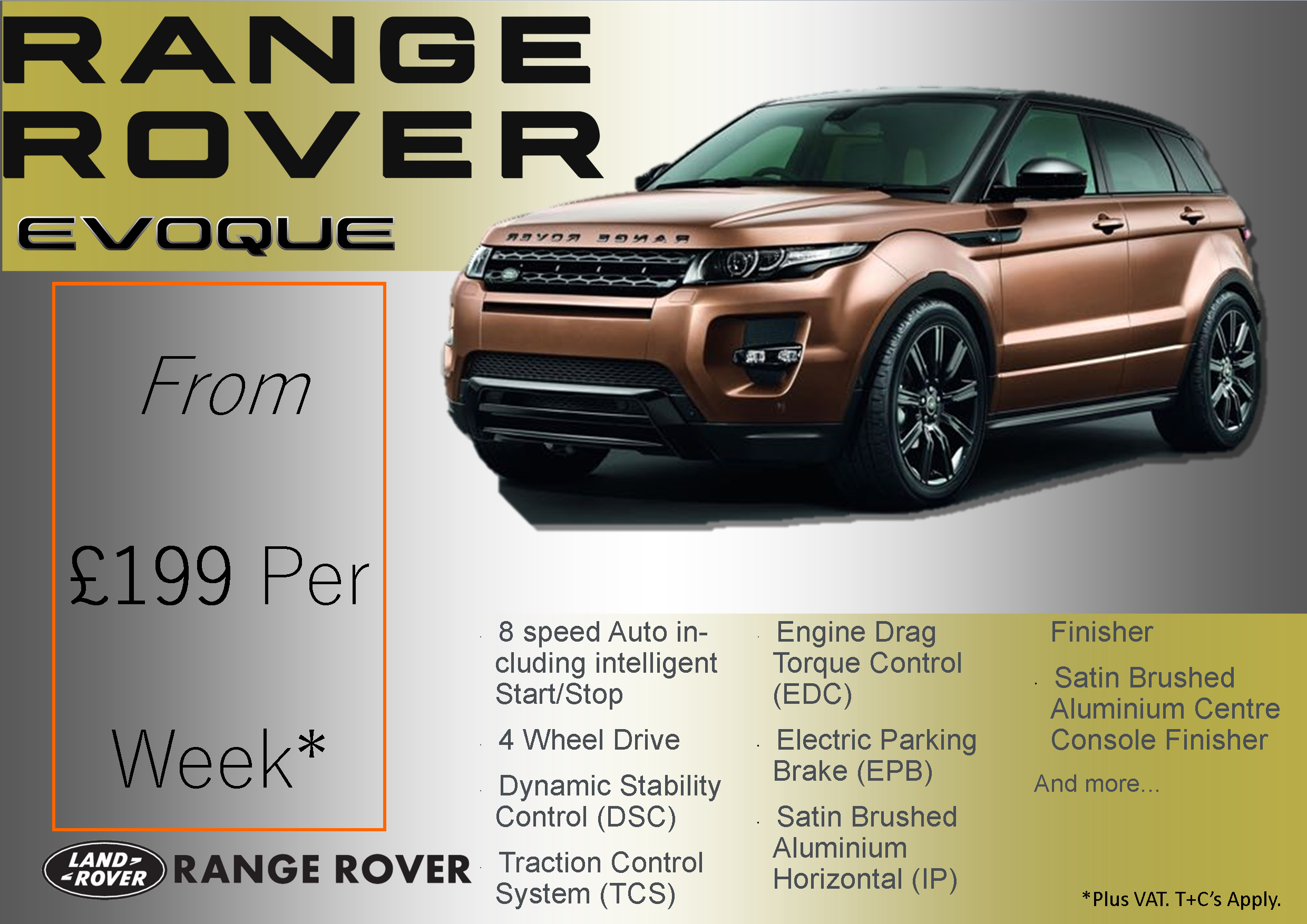 new range evoque ad