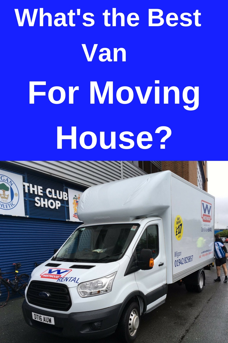what's the best van for moving house