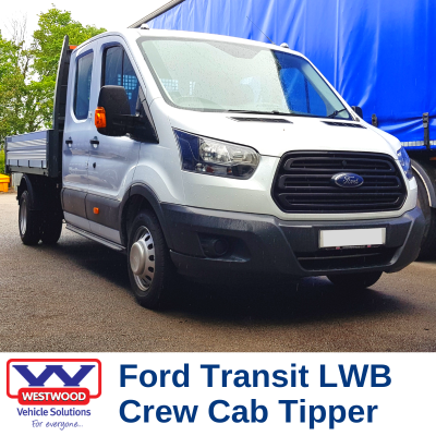 Ford Transit Crew Cab Tipper hire wigan