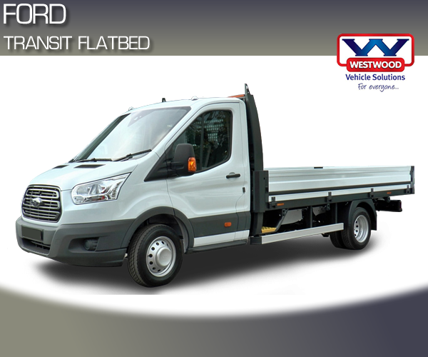 ford transit flatbed hire wigan