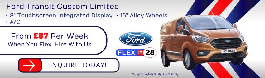 Ford Custom Limited 2018 Slideshow Image