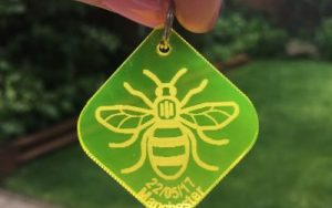 Manchester Bee Keyring