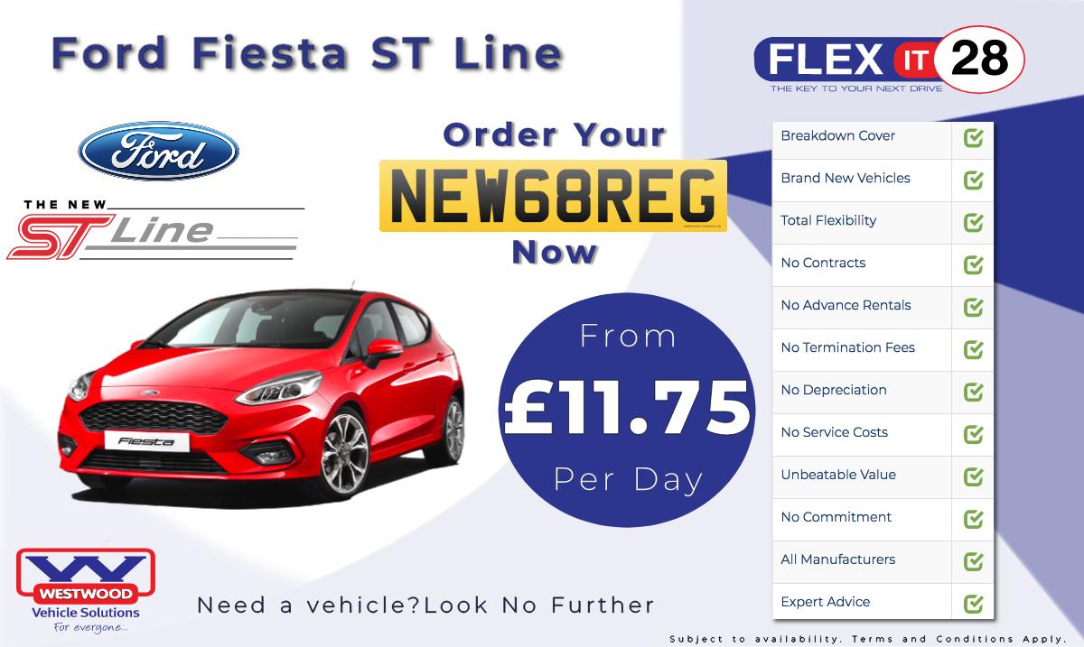 Fiesta ST Advert