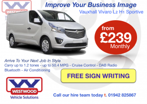 The New Vauxhall Vivaro Sportive - Make It Yours For Free
