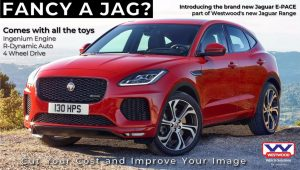 Jaguar E-PACE, Car Hire ,From Westwood