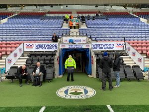 The New Latics Dugouts Are All Westwood