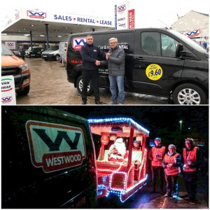 Christmas, Wigan Rotary Club, Westwood Motor Group