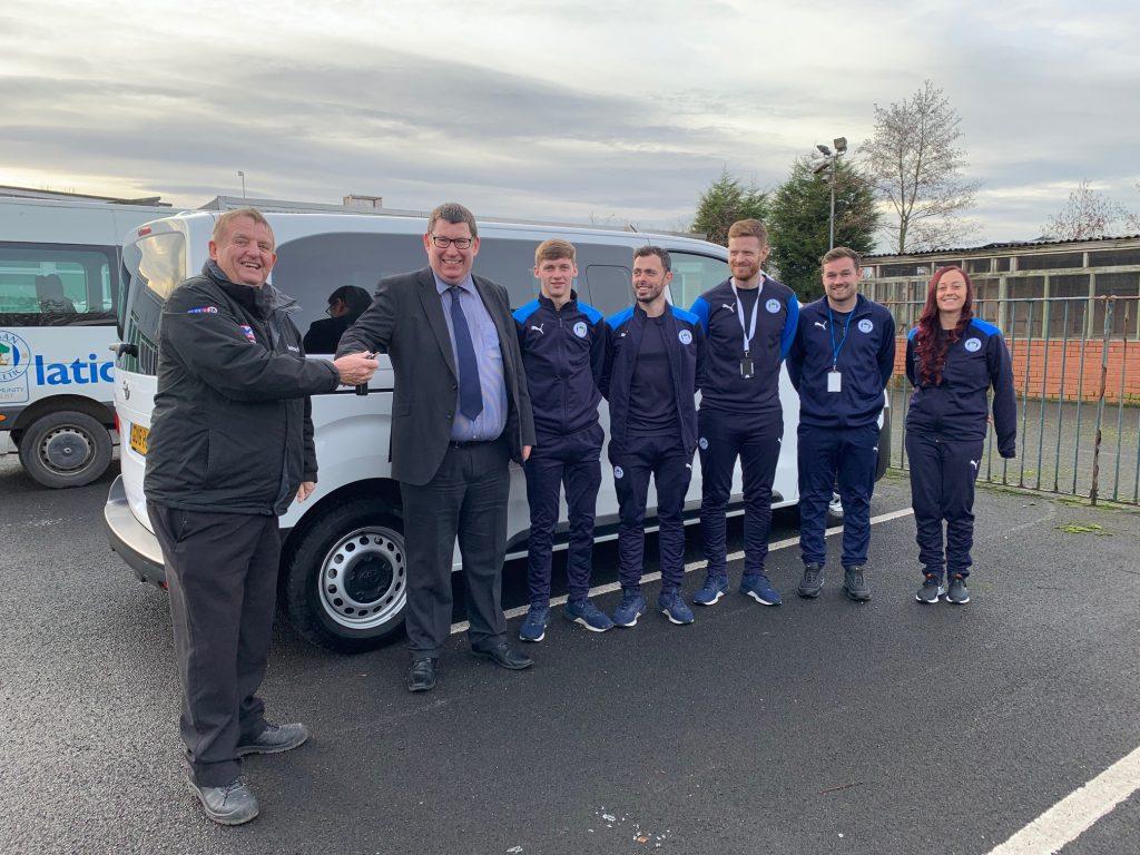 Wigan Athletic - Westwood Motor Group