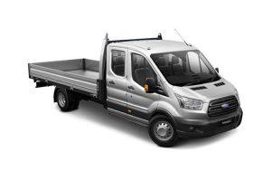 Ford Transit Crew Cab Tipper Hire Wigan