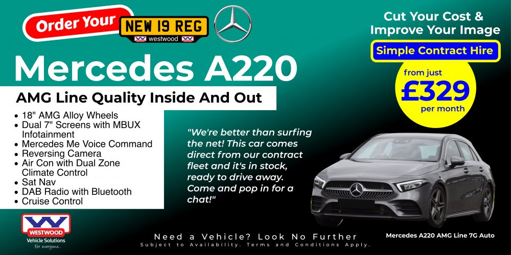 Mercedes A220 AMG Line 3