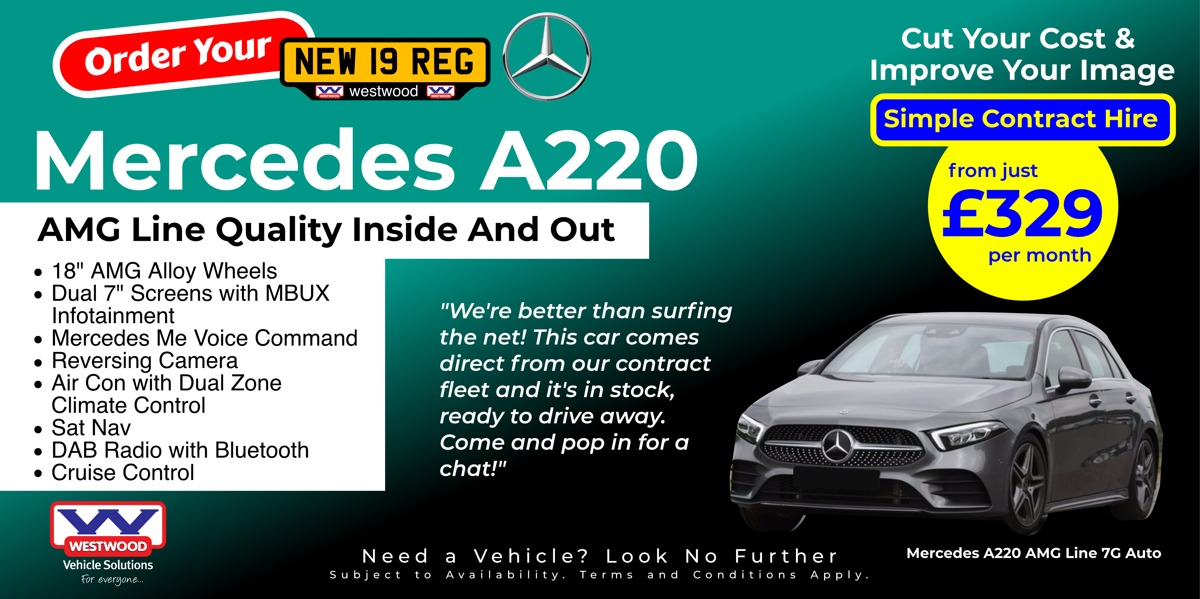 Mercedes A220 AMG Line 3
