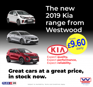 Westwood's New Kia Range, Ready To Roll Out
