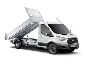 Ford Transit Tipper Rental Wigan