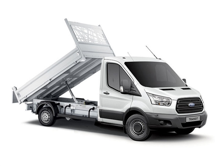 Ford Transit Tipper Rental Wigan