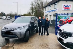 Landrover Discovery Car Hire Wigan