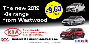Kia - Car Hire Wigan, Westwood Motor Group
