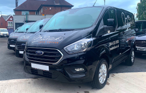 Broderick's Coffee New Van Hire