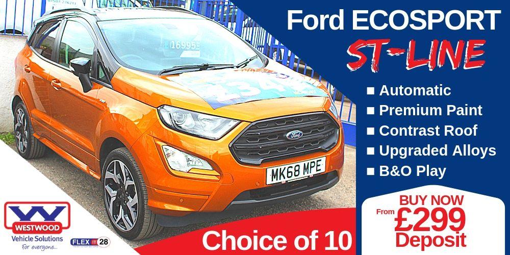 Ford EcoSport STLine Wigan