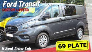 Ford Transit Custom Limited Crew Cab