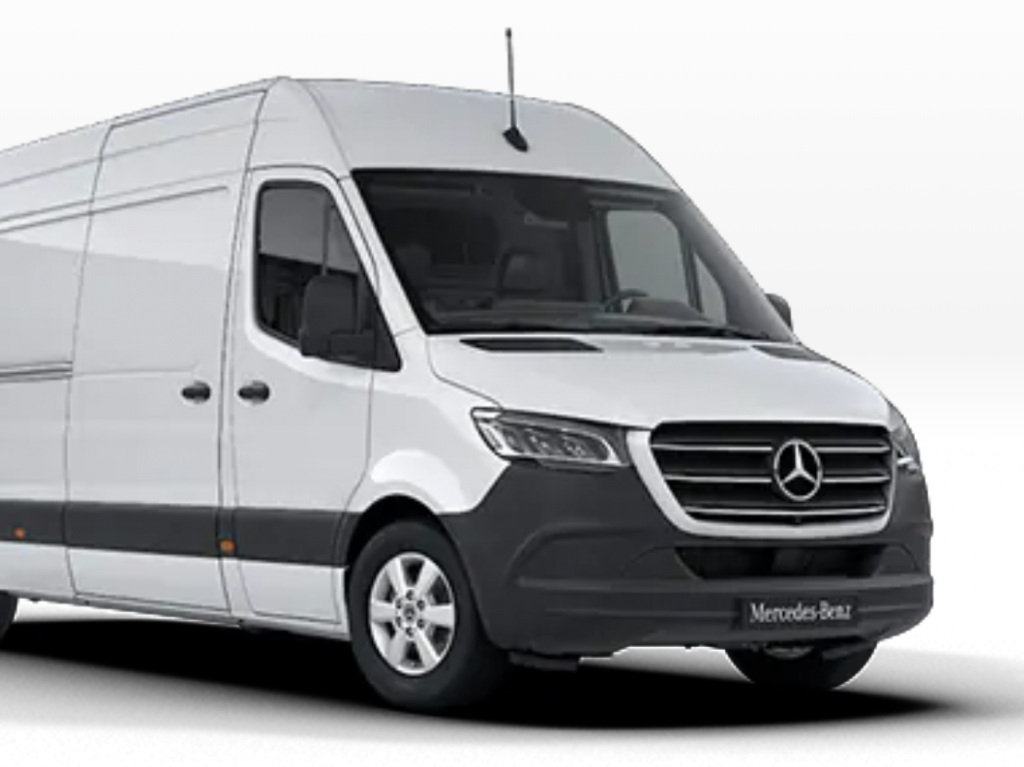 Mercedes Sprinter L2 H2 2019 Van Hire Wigan