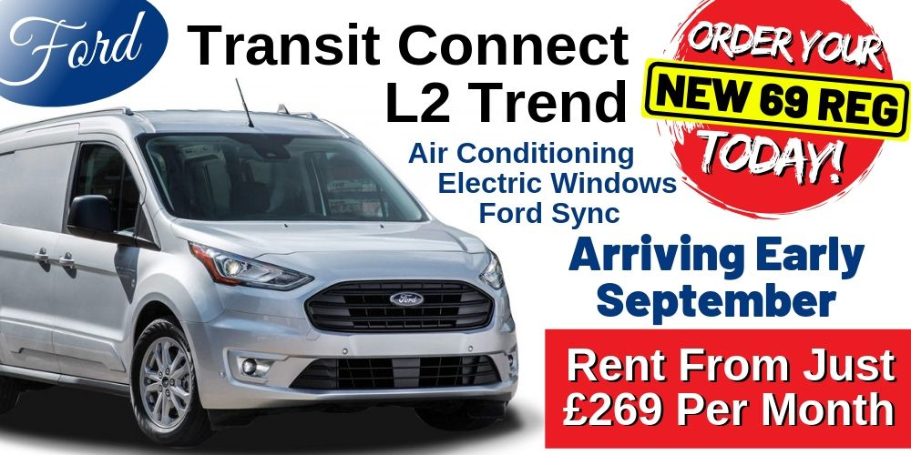 69 Plate Ford Transit Connect L2