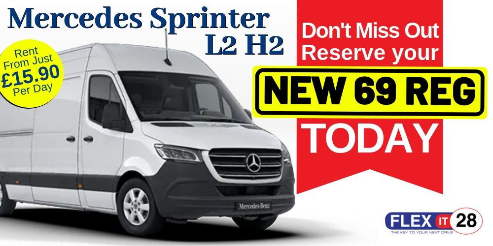 69 Plate Mercedes Sprinter L2 H2
