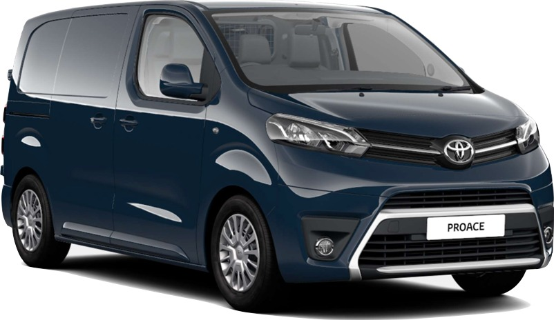 Toyota proace Compact 69 plate van hire