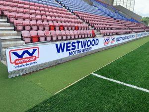 Wigan Athletic Stadium Hoardings