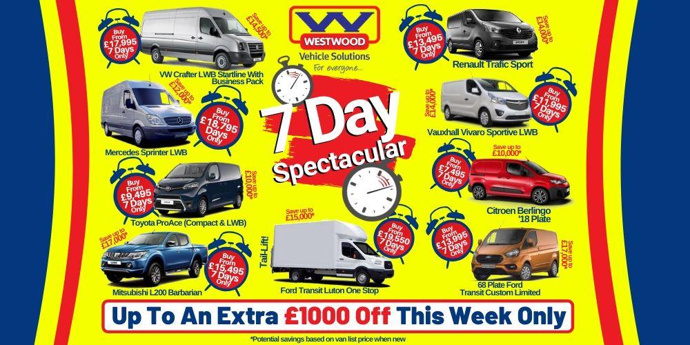 7 Day Van Sale Slider