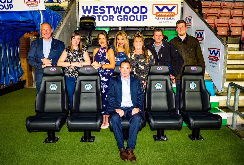 Latics Dugout by Westwood Motor Group