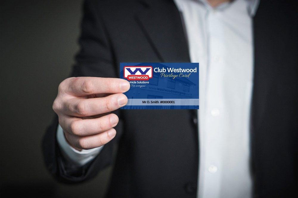 Club Westwood Privilege Card