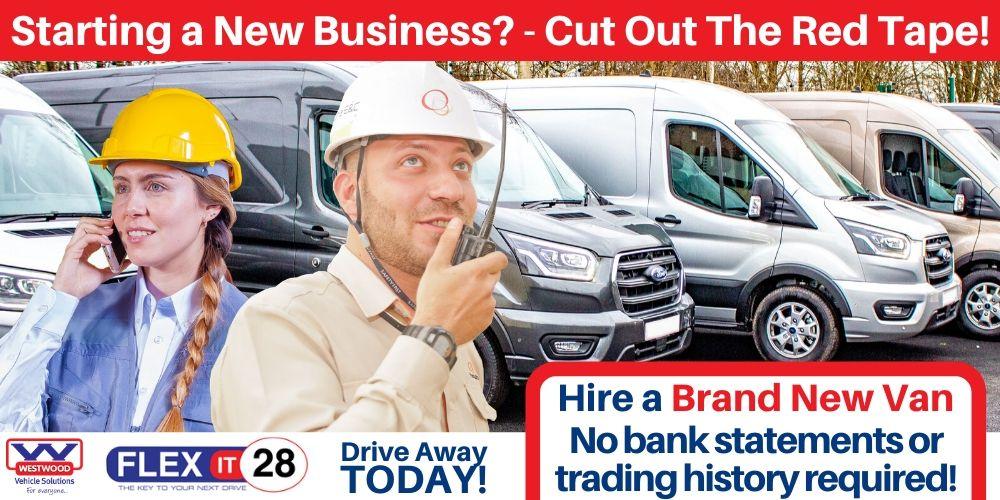 New Business Van Hire Slider