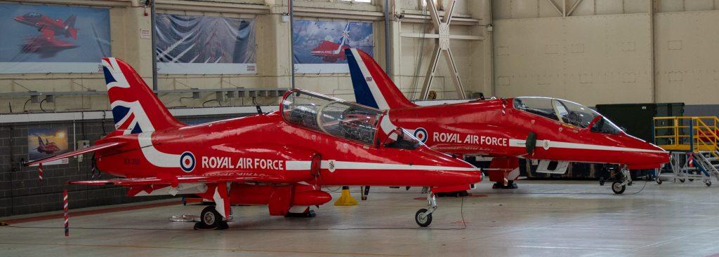 Red Arrows Hawk Jets