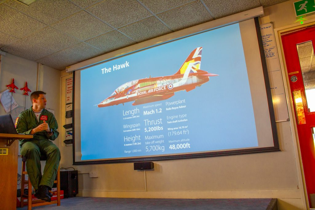 Red Arrows Hawk Fast-Jet
