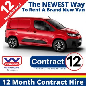 Contract Van Hire Options - Contract 12