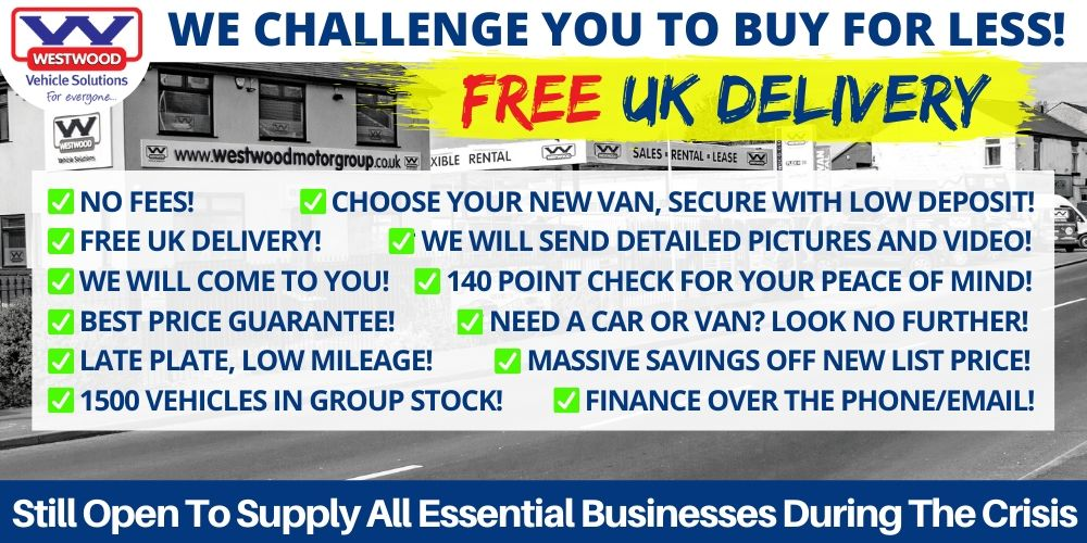 used van sales free uk delivery