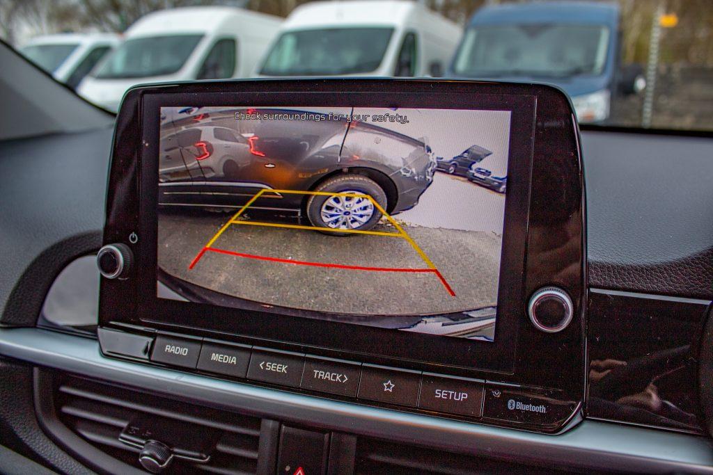 car hire reverse camera