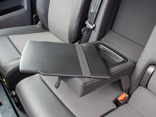 Vauxhall Vivaro Storage