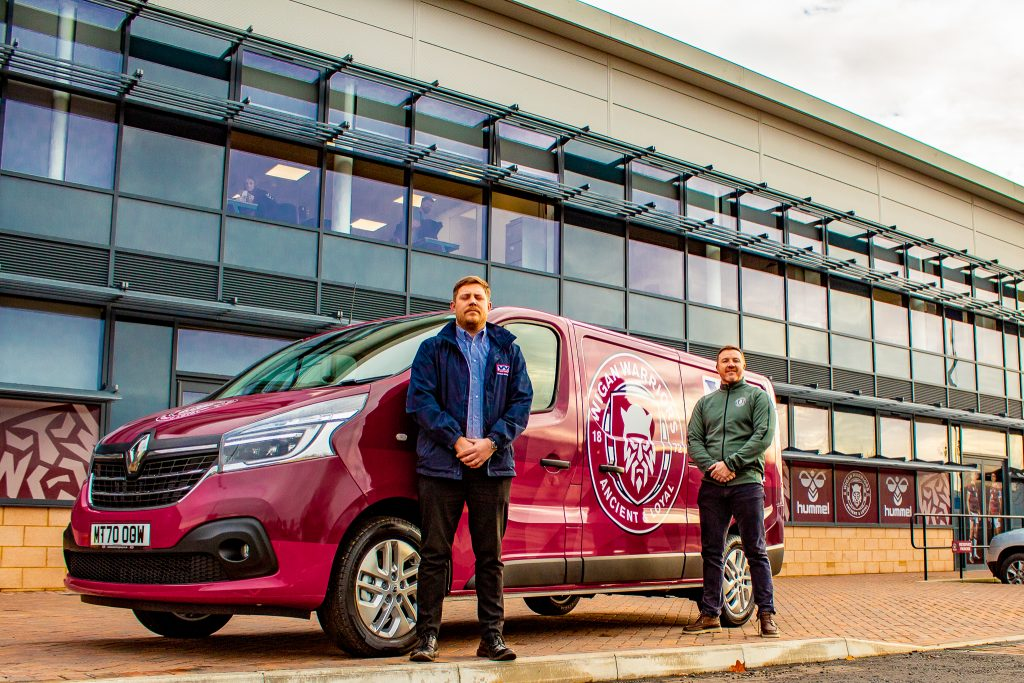 Wigan Warriors  Handover Robin Park