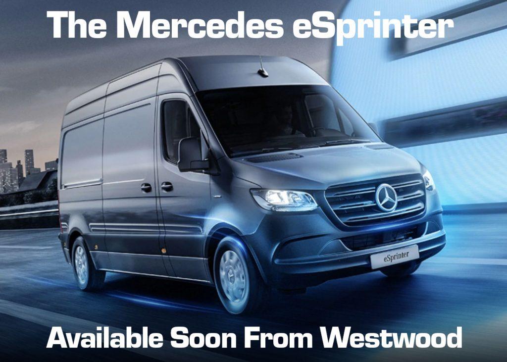 Mercedes eSprinter Electric Van Hire Wigan