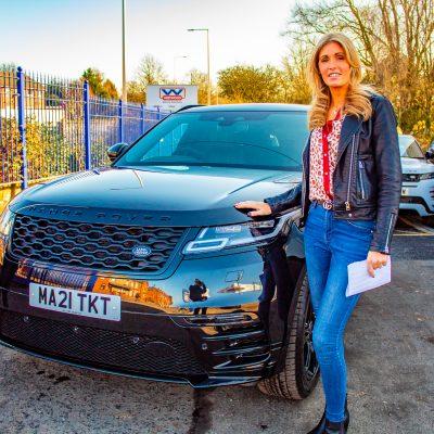 Krystal Group UK Range Rover Velar Car Hire Wigan