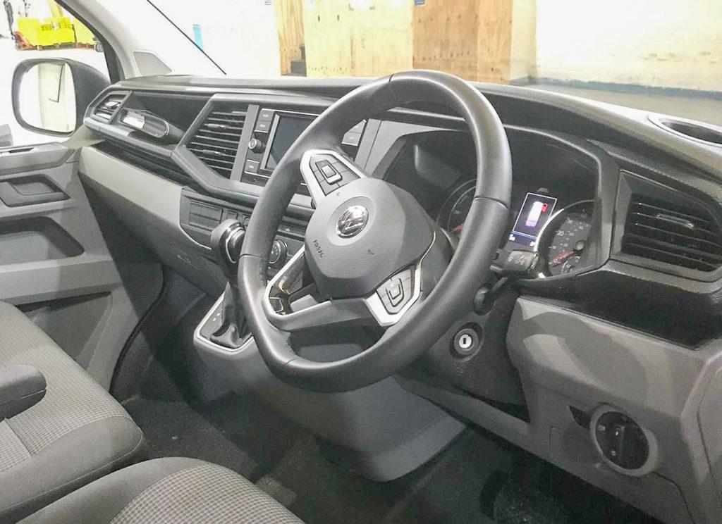 VW E-Transporter Dash