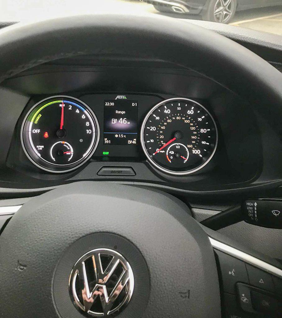 VW E-Transporter Electric van hire