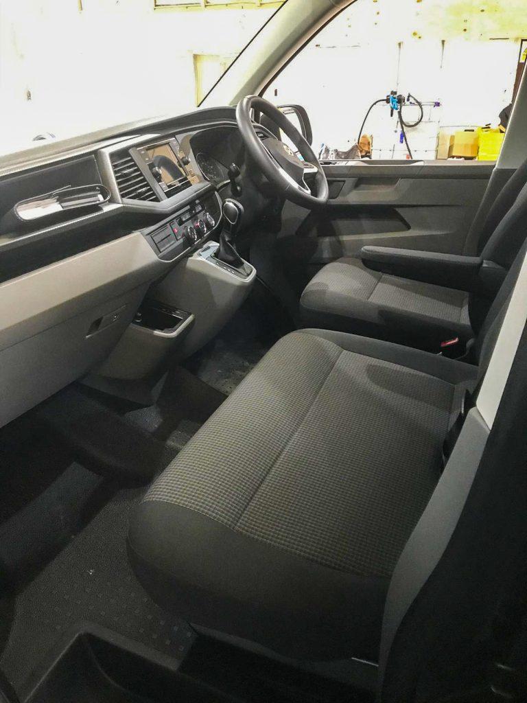 VW E-Transporter Interior