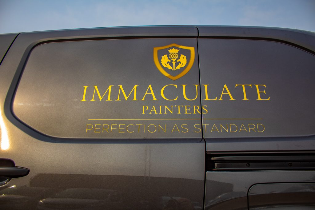 Immaculate Painting Logo