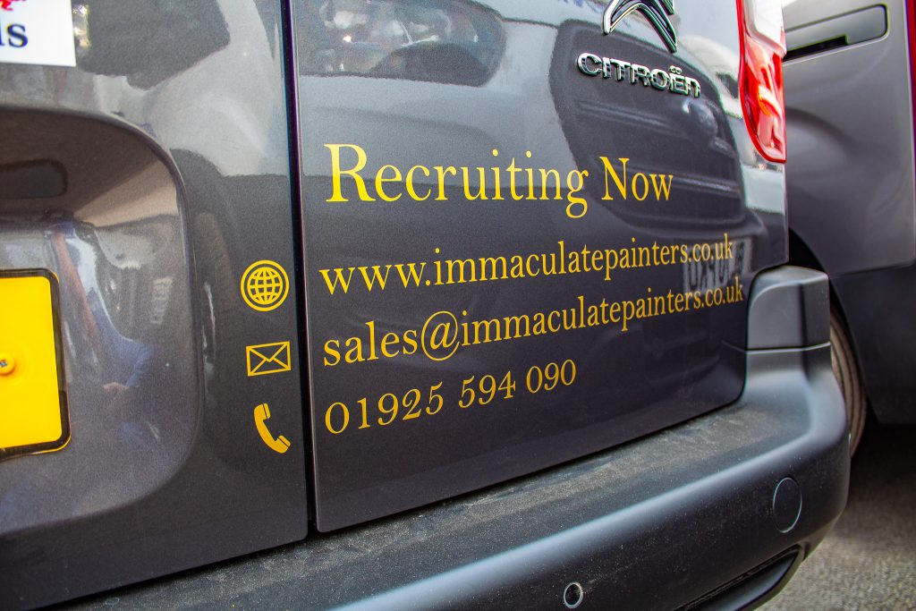 Immaculate Painting Recruiting Now