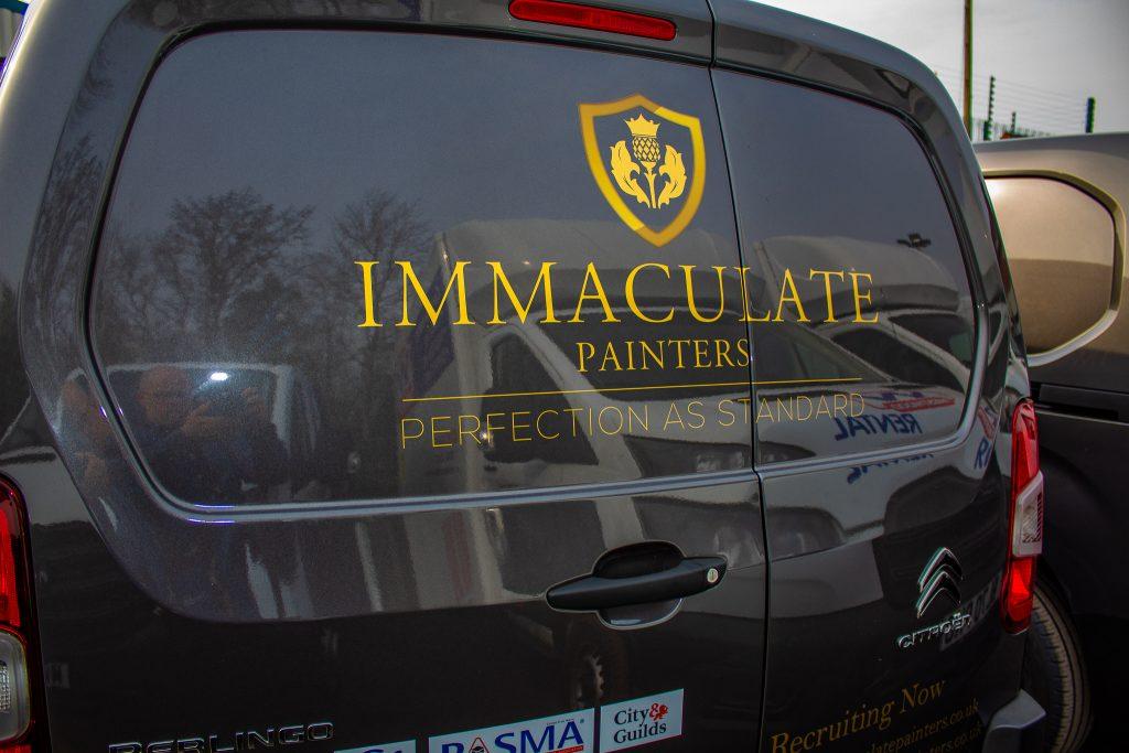 Immaculate Painting van rental