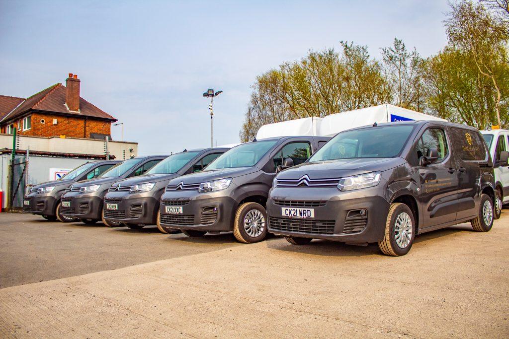 Van hire fleet hire wigan